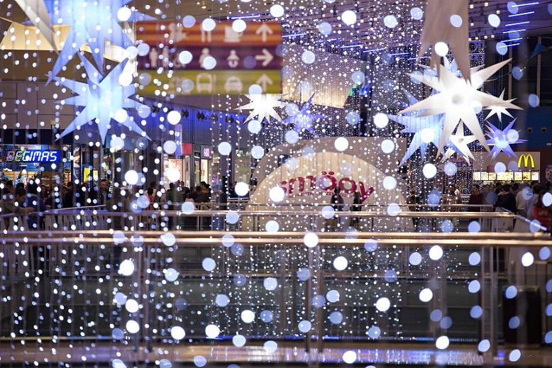 Cada centro comercial se gastar una media de en - Decoracion navidena para comercios ...