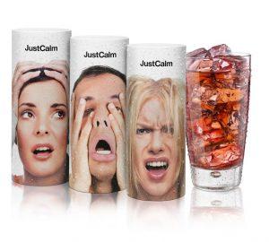 JustCalm, la primera infusión fría con sabor a frutos rojos y manzana que ayuda a relajarte y a concentrarte