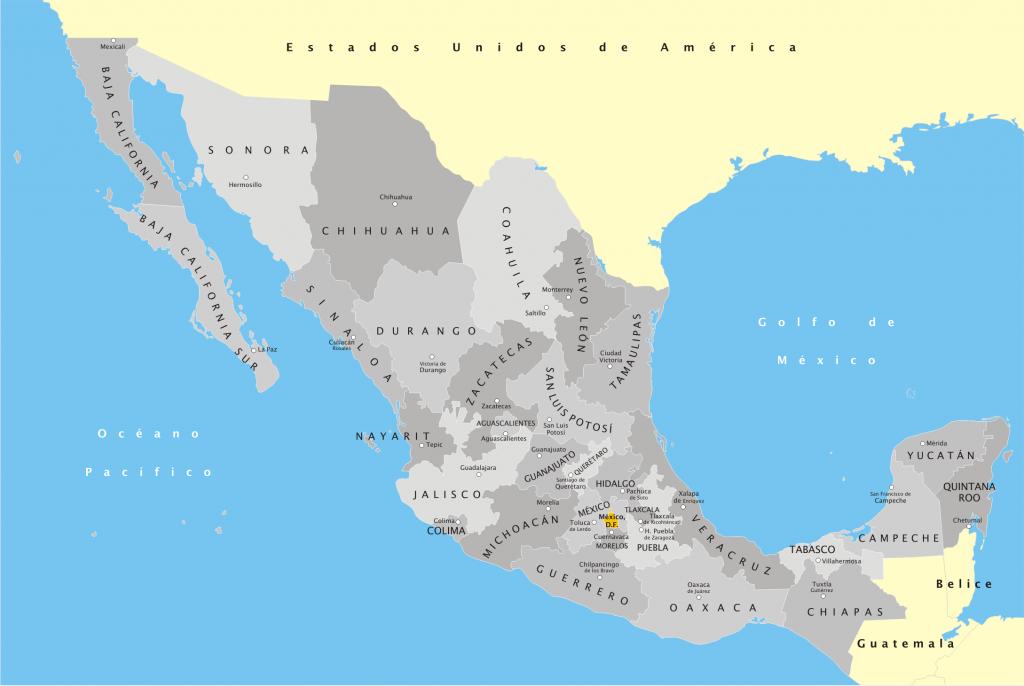 México mapa