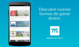 Markets by Traity, la app que ayuda a la gente a descubrir formas alternativas de ganar dinero
