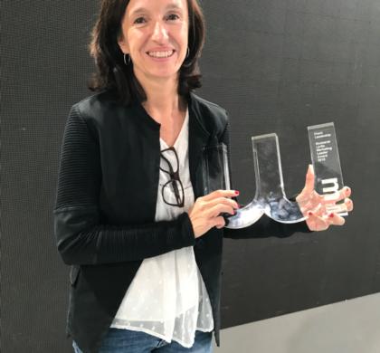 Montse Lavilla, Directora de Marketing de Fotocasa y habitaclia, premiada con el Leadership Award