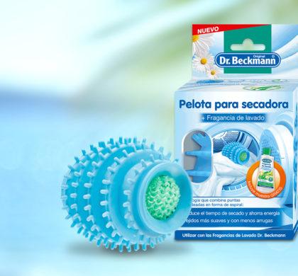 Llega la experiencia de lavado integral: la Pelota para Secadora de Dr. Beckmann