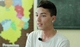 Un joven de 19 años dispuesto a realizar 2000 km a pie por su sueño