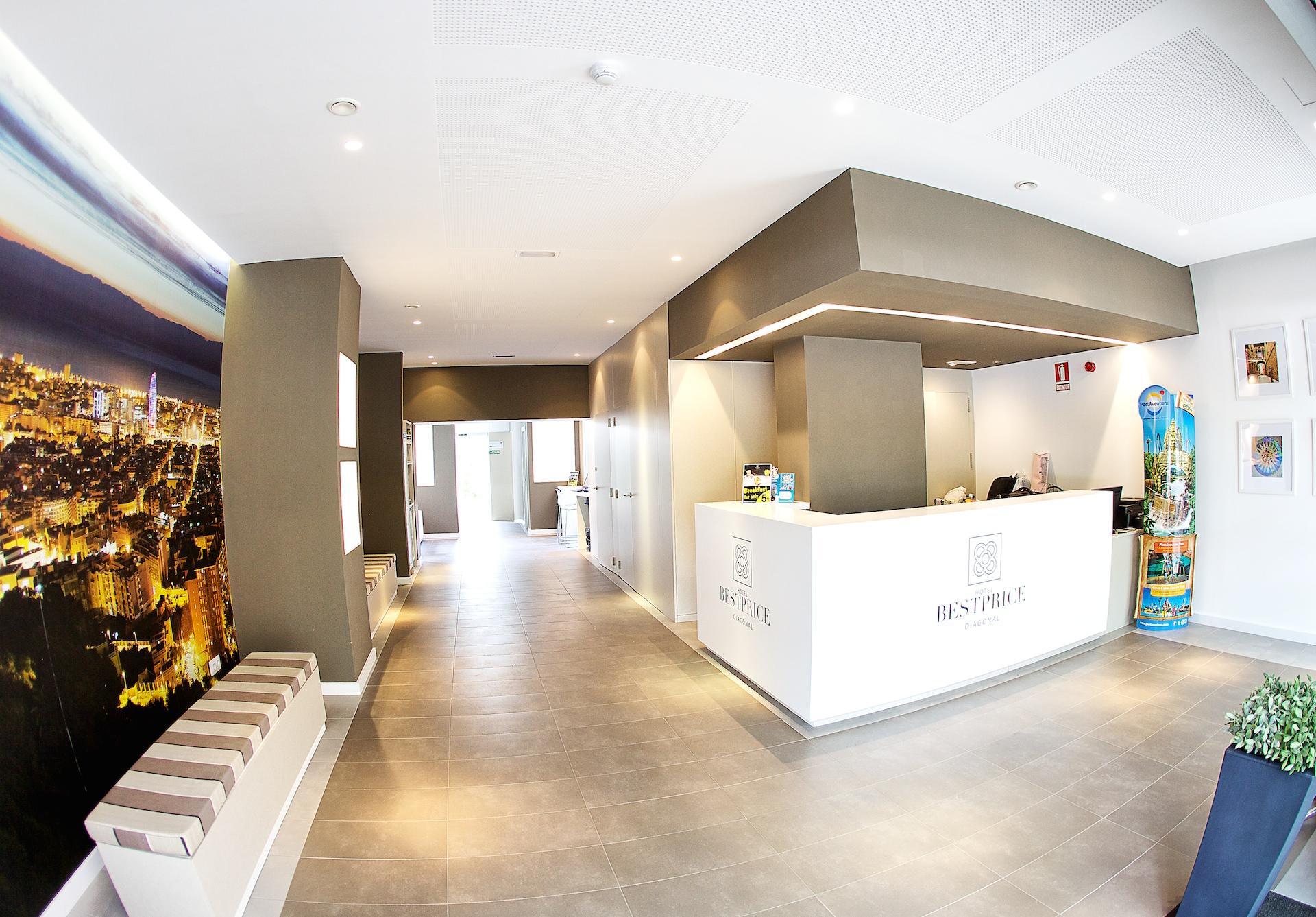 El hotel de emprendedores bestprice diagonal se afianza en for Oficinas ups madrid