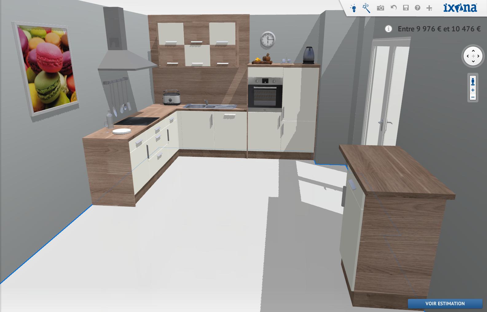 Mi casa decoracion planificacion de cocinas for Disenador de cocinas gratis