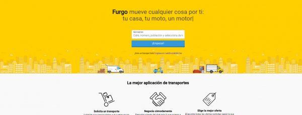 Furgo lanza un servicio exprés de transporte de mercancías