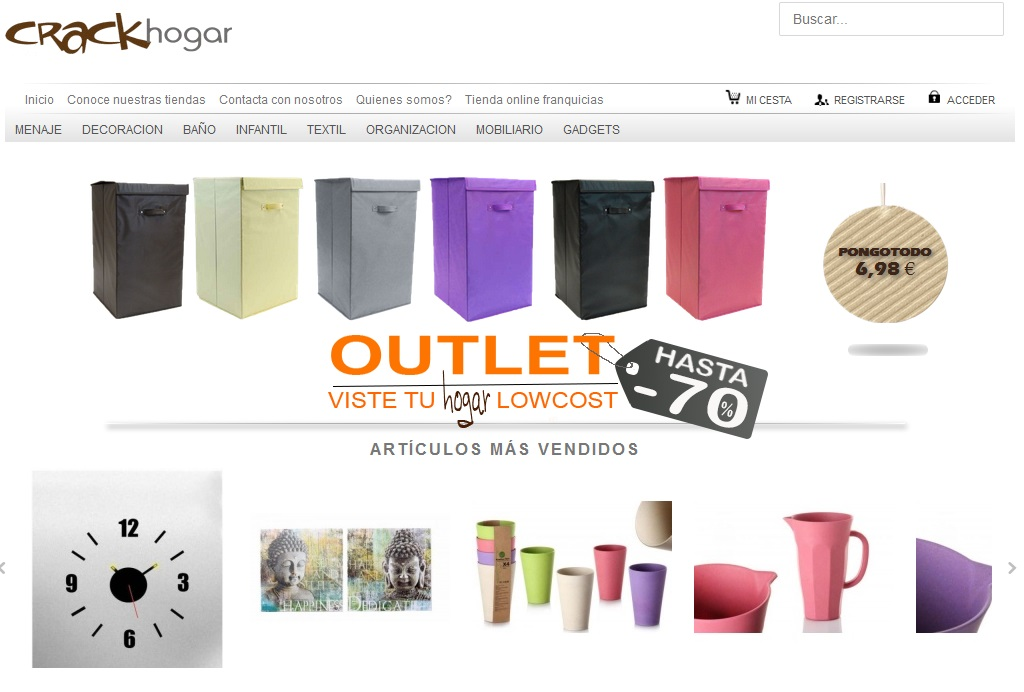 Tiendas hogar online beautiful centro de planchado with - Web decoracion online ...