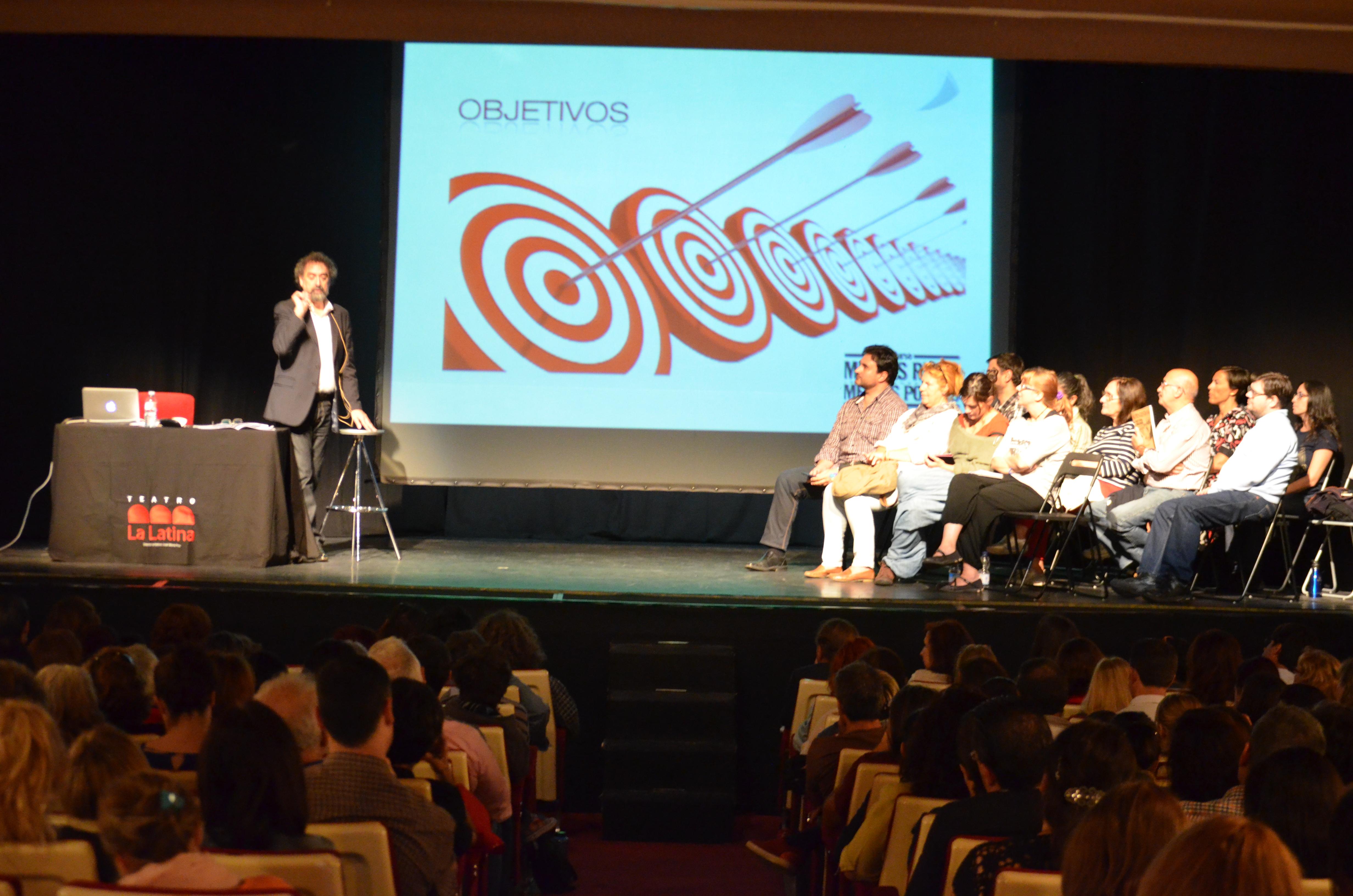 """Más de 600 personas asisten al curso de """"tapping"""" celebrado en el Teatro La Latina de Madrid"""