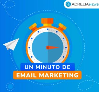 Un minuto a la semana para aprenderlo todo sobre email marketing