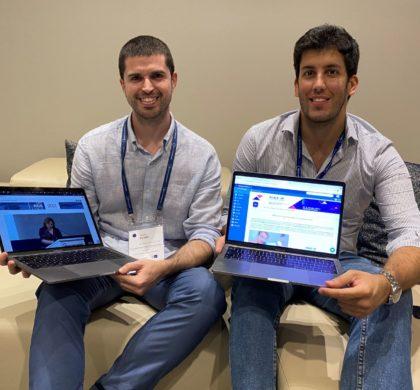 De izquierda a derecha, Sergio Pulido y Xavier Creus, fundadores de Copernic