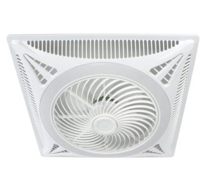 La ventilación exterior apoyada en un ventilador disminuye el riesgo de contagios en interiores