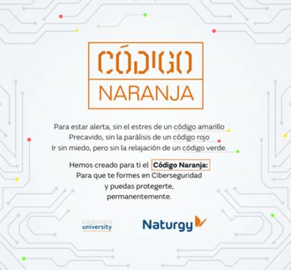 Código Naranja, el innovador programa de microhistorias con el que  TechHeroX forma a la plantilla de Naturgy en ciberseguridad