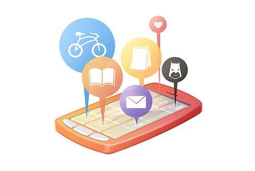 Cada vez más personas consultan las redes sociales a través del móvil