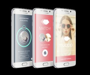 Anuncio 3 pantallas Android sin fondo