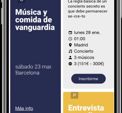 Acqustic cierra 250.000 euros de inversión y lanza la app que permite al músico ser su propio mánager