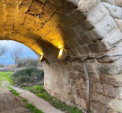 El puente romano de Mérida se ilumina con la tecnología LED de Artesolar