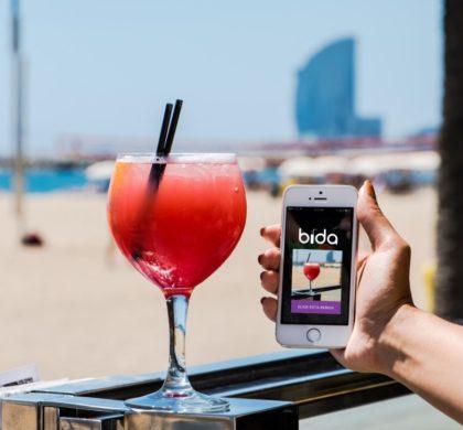 La app Bida regala 1 cóctel cada 3 horas en los mejores bares de Barcelona