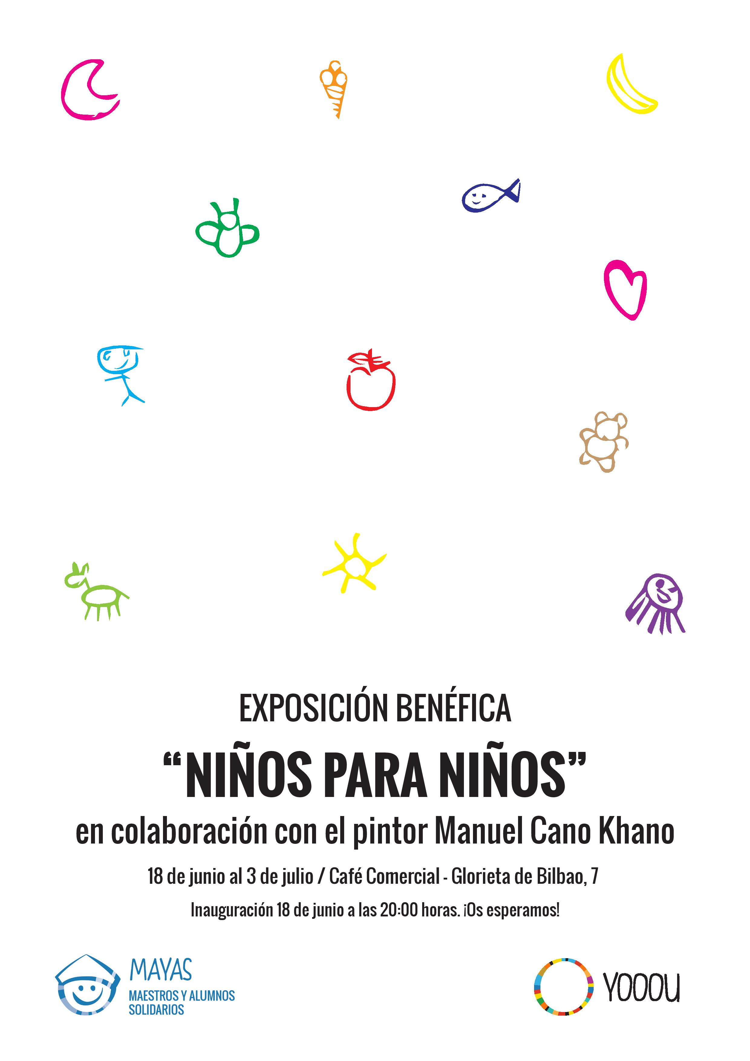 'Niños para niños' una exposición fruto del arte de los niños de 2 colegios madrileños