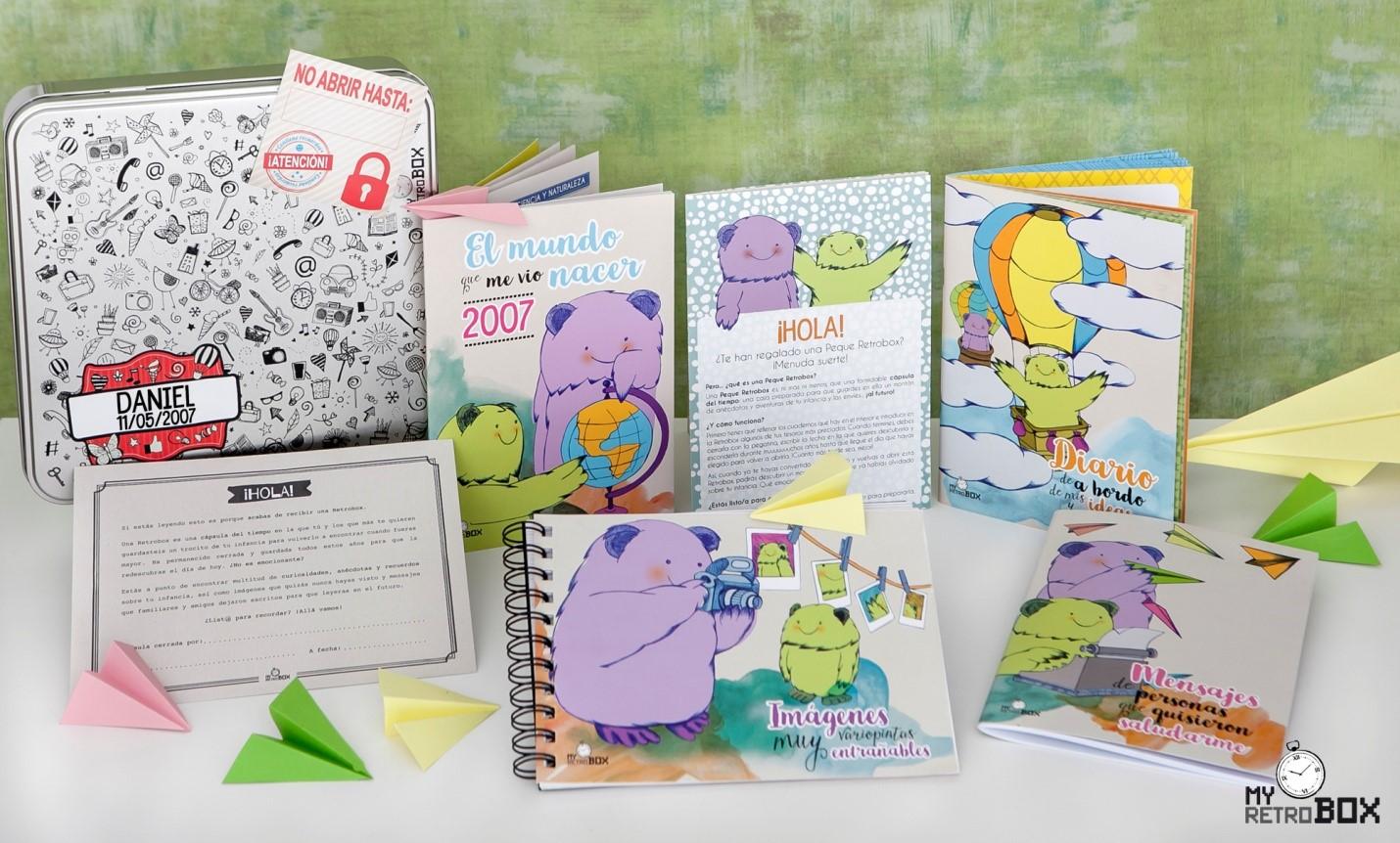 Llega Peque Retrobox: una cápsula para guardar lo mejor de la infancia de un niño
