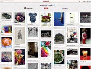 Compartir imágenes en Pinterest