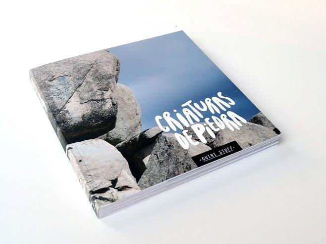 Criaturas de Piedra, un libro visual para ejercitar la imaginación