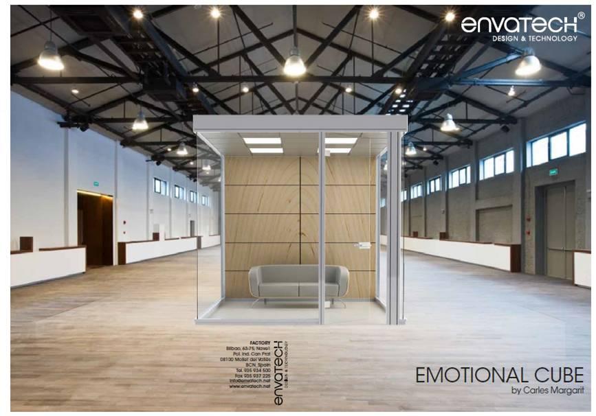 Nace un nuevo concepto en el diseño de oficinas: el cubo