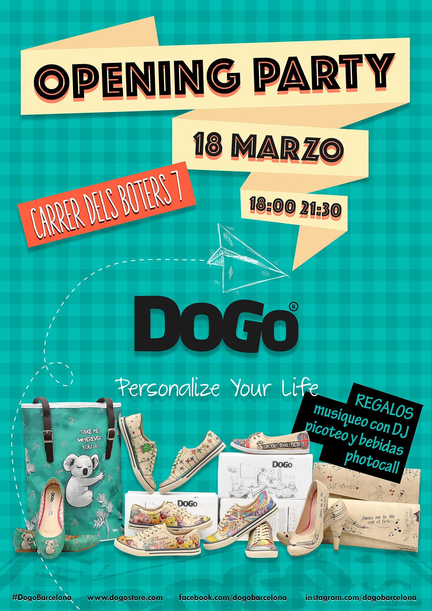DOGO celebra su 'Opening Party' para inaugurar su nueva tienda en Barcelona