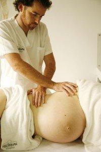 Embarazada masaje 6