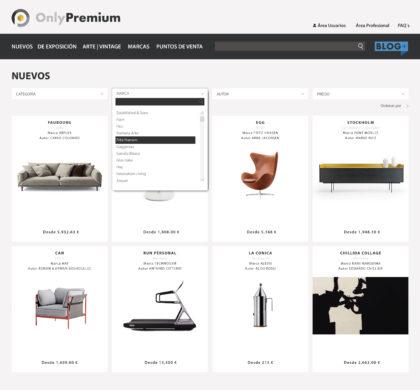 Only Premium, el primer portal en España que agrupa y filtra solo las mejores marcas de decoración