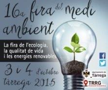 El proyecto FOSTEr in Med participa en la Fira del Medi Ambient de Tárrega y la feria Greencities & Sostenibilidad