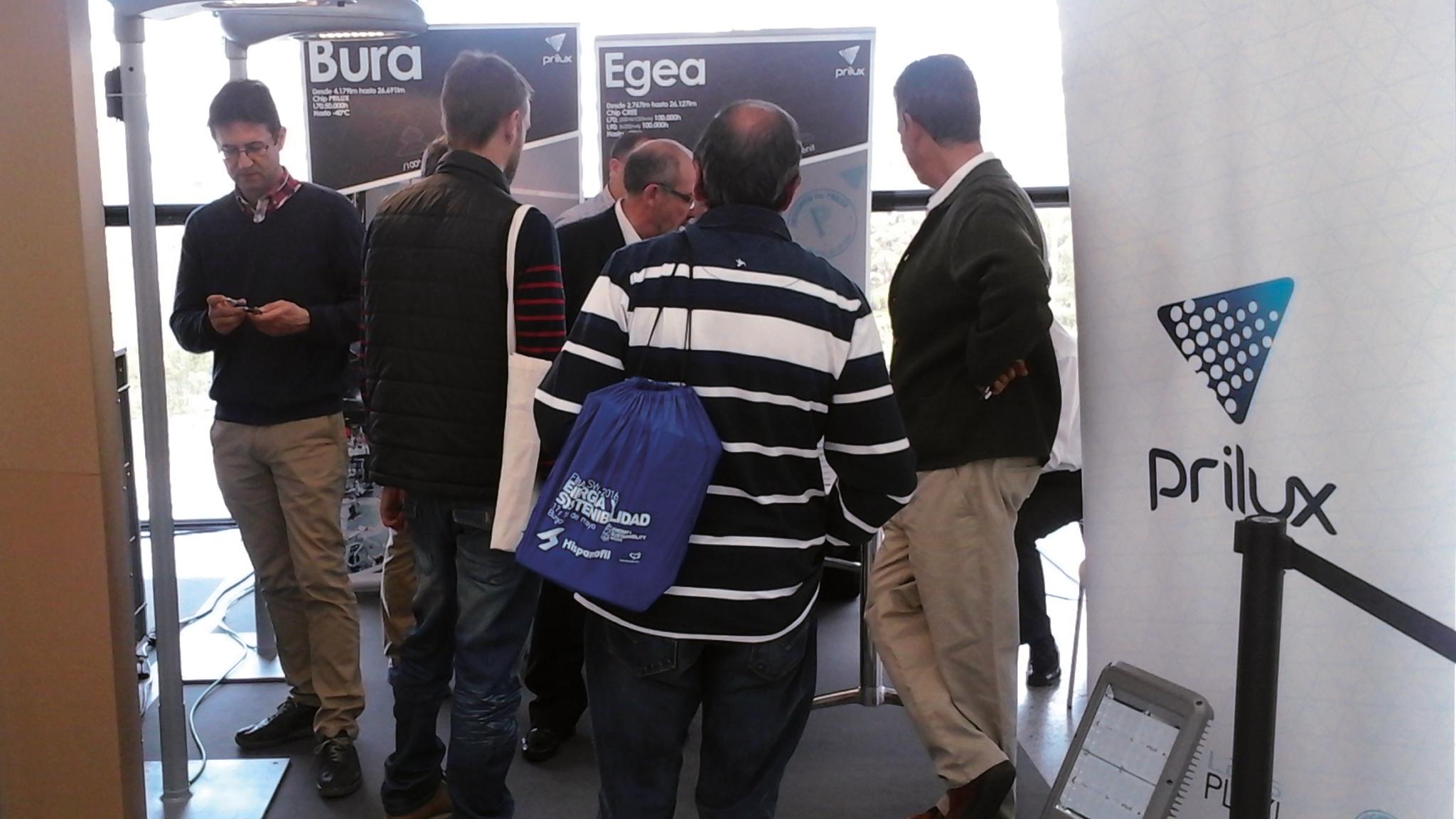 Prilux participa en la Primera Feria de Energía y Sostenibilidad en Burgos