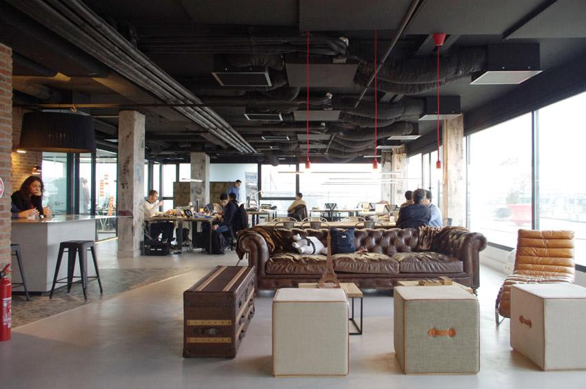 La última tendencia en el diseño de oficinas: el estilo industrial