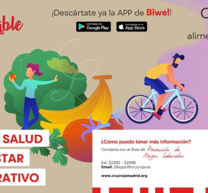 Cruz Roja Madrid inicia el programa +Saludable a través de la plataforma Biwel