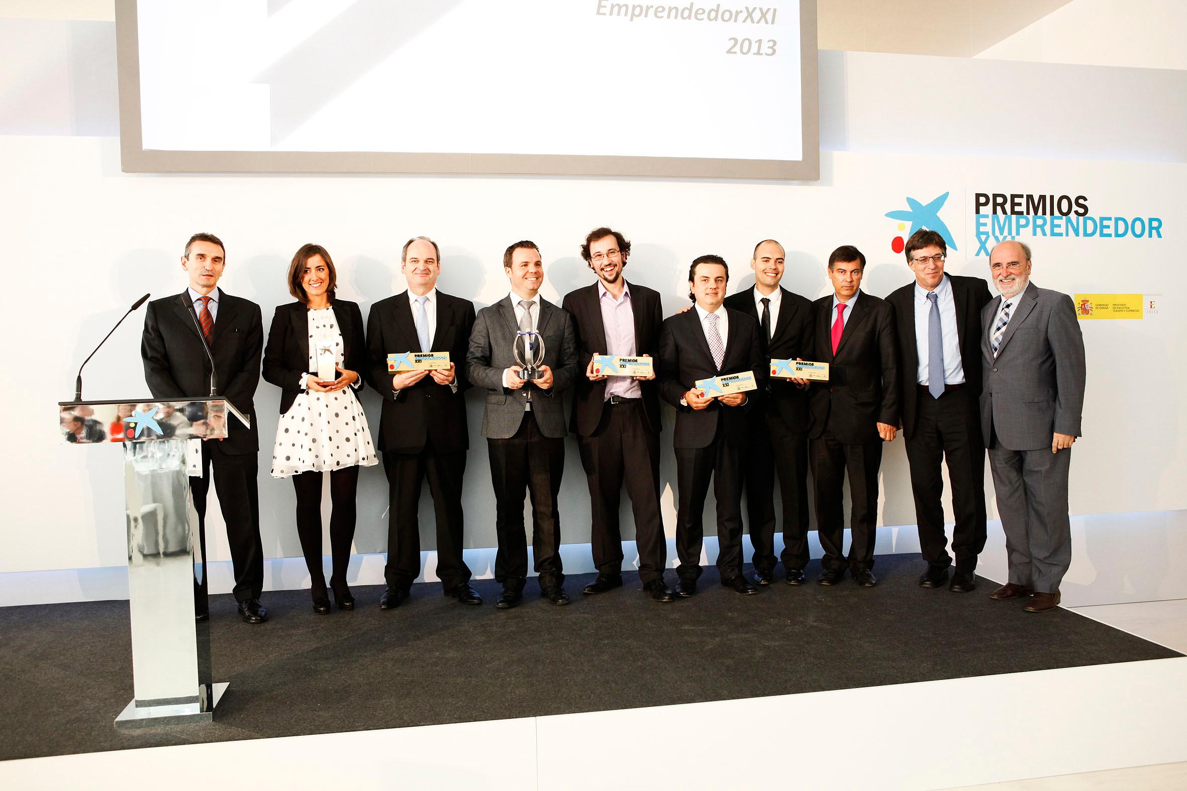 Ganadores de los Premios EmprendedorXXI 2013