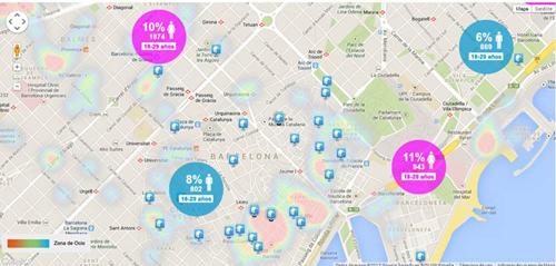 Gràcia y Ciutat Vella, los barrios con más solteros de Barcelona