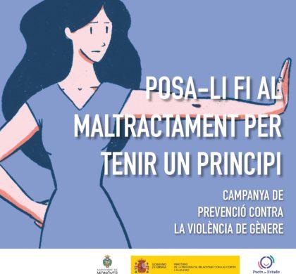 Monóvar lucha contra la violencia machista con una nueva campaña de sensibilización