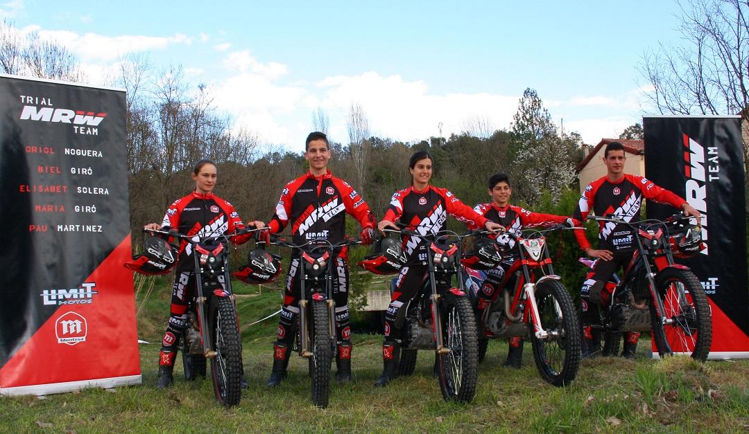 MRW presenta su nuevo Trial Team, un equipo joven y con un futuro prometedor