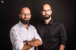 Noel Zaragoza y Víctor Gaudioso, socios de NSTUDIO