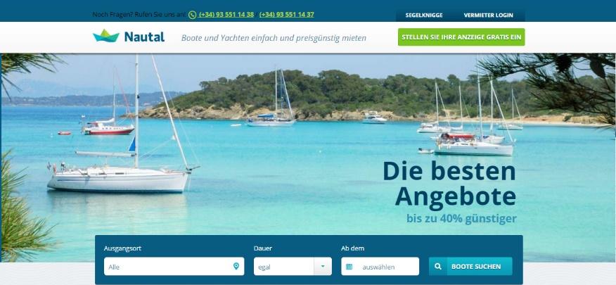 Nautal desembarca en Alemania con la apertura de una nueva plataforma