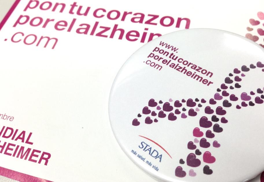"""La campaña solidaria """"Pon tu corazón por el Alzheimer"""" lanza el reto de conseguir 800.000 mensajes de apoyo por las personas con Alzheimer"""
