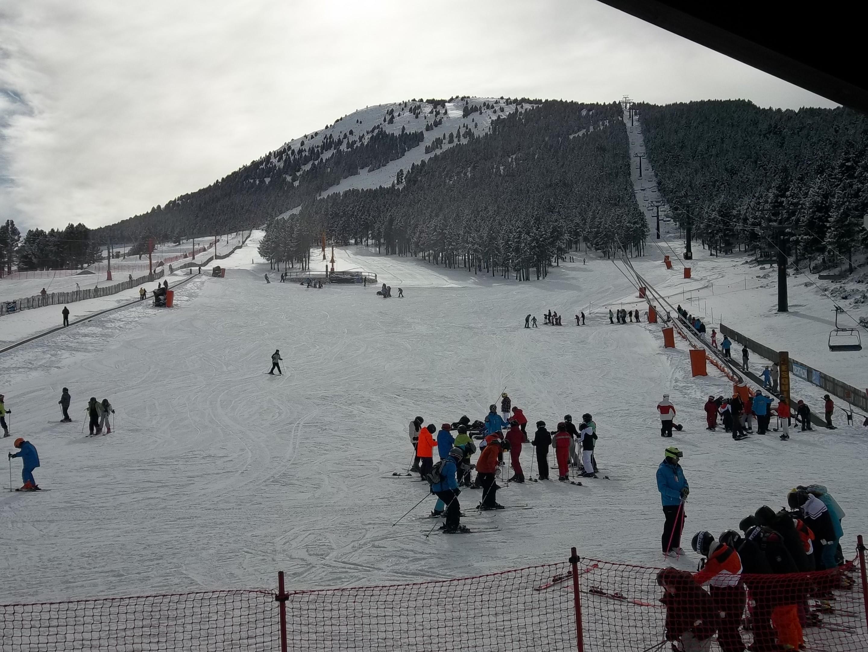 Port del Comte prevé un fin de semana con buen tiempo y gran afluencia de esquiadores