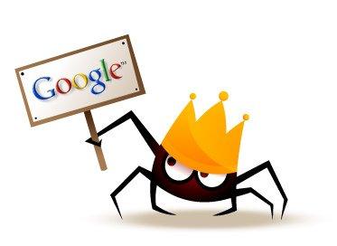 Las arañas de Google rastrean todas las páginas Web.