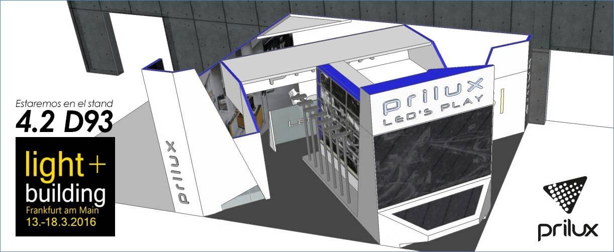 La empresa española Prilux asistirá con stand propio a la feria Light+Building de Alemania