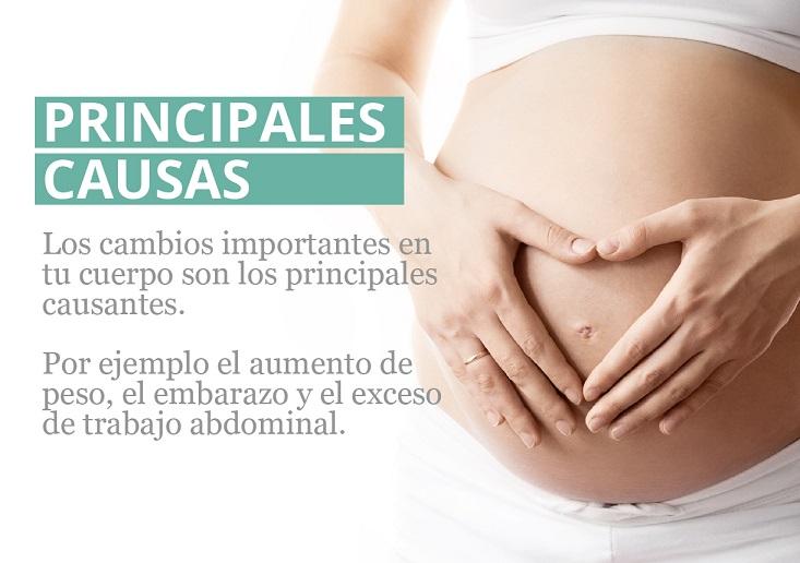 Recupera tu abdomen tras el parto