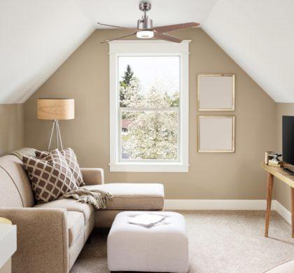 El uso del ventilador en modo invierno supone un ahorro en calefacción de hasta un 30%