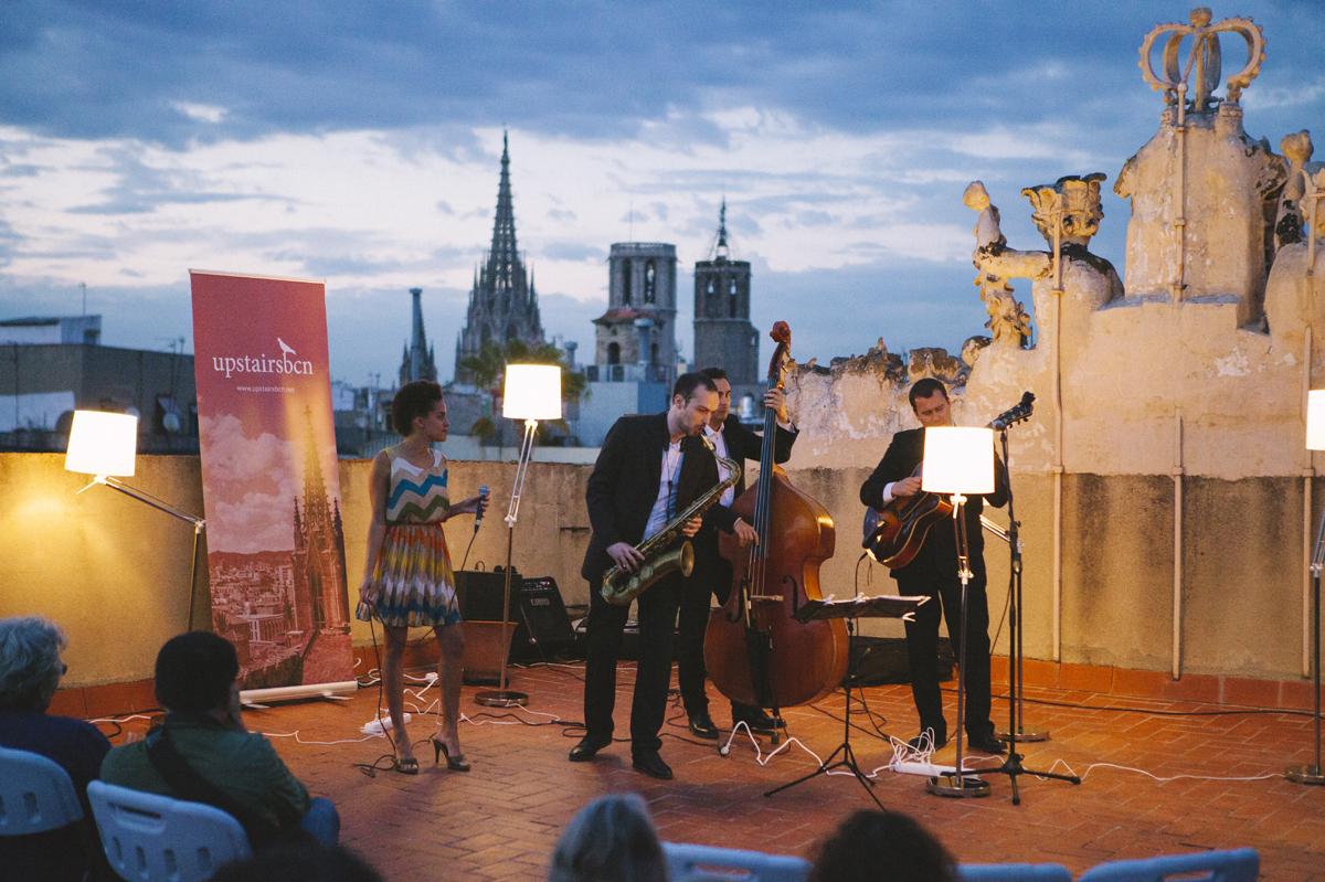 Llega un Ciclo de Jazz en las azoteas de Ciutat Vella organizado por Upstairs BCN