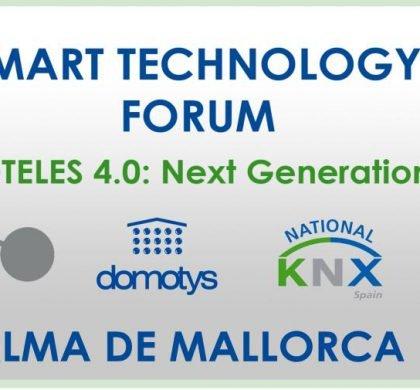Domotys y KNX España organizan el Smart Technology Forum