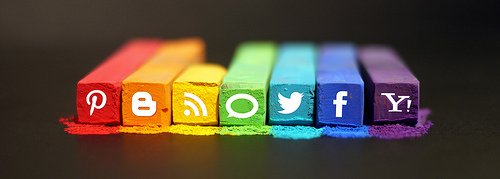 Social Media by mkhmarketing en Flickr