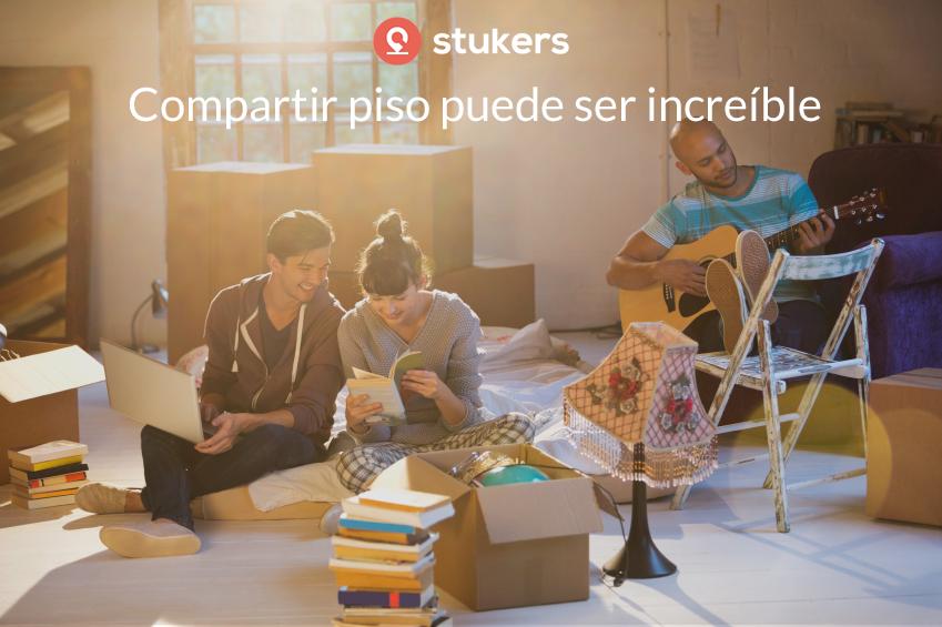 Stukers busca ofrecer un servicio completo ofreciendo pisos en alquiler a quienes encuentren a su compañero