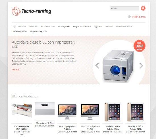 El renting llega a la tecnología gracias a un grupo de emprendedores gallegos